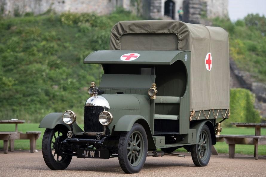 Vintage ambulance